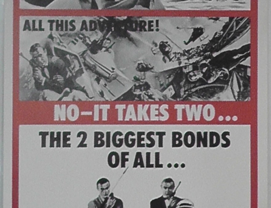 THUNDERBALL/YOU ONLY LIVE TWICE
